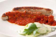 """Currywurst Sauce Rezept - original aus der Sansibar. Aus dem Kochbuch """"Pirates Cooking"""". Genau die richtige Mischung aus fruchtig und scharf. Für das komplette Rezept darf ich Dich einmal auf meinen Blog rüberbitten: http://www.meinesvenja.de/2013/01/18/currywurst-mit-sansibar-currysauce/"""