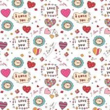 Papel Scrapbooking - Valentine in our shop