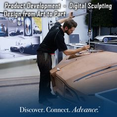 Macomb's Product Development - Digital Sculptor Program, the only one offered by a community college in Michigan, prepares you for work in industrial design studios, focusing on the development of both the necessary technical and creative skills.
