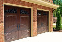 2 car garage doors - Google Search