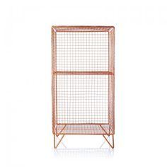Grid Two Shelf Storage Unit - OB can get