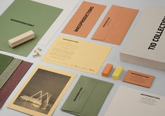 Massproductions — Graphic identity by BrittonBritton, via Behance