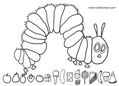 Very Hungry Caterpillar Coloring Page Cool Gallery Zombie Mario Coloring Pages Zombie Mario Coloring Page Color Like AColoring Page for Kids : Coloring Page for Kids Mario Coloring Pages, Cat Coloring Page, Cool Coloring Pages, Printable Coloring Pages, Free Coloring, Very Hungry Caterpillar Printables, Hungry Caterpillar Party, Caterpillar Craft, Eric Carle