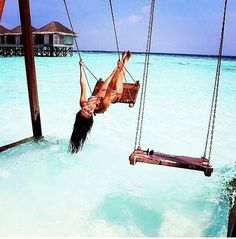 I want to swing in the ocean!  ♡