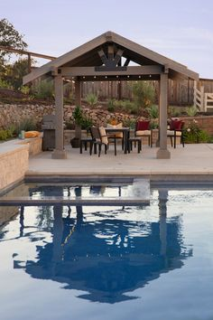Build an easy DIY pergola or outdoor party pavilion in a weekend Awesome Woodworking Ideas, Woodworking Projects That Sell, Woodworking Bench, Diy Wood Projects, Wood Crafts, Building A Pergola, Diy Pergola, Outdoor Living, Outdoor Decor