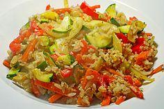 Tanjas gebratener Reis mit Gemüse (Rezept mit Bild) | Chefkoch.de