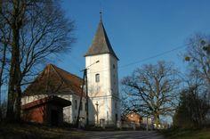 Stróżyna - kościół.