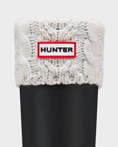 Chaussettes Pour Bottes En Tricot Torsade Double | Official Hunter Boots Site