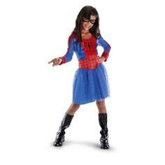 Spider Girl Costume Kids Children Girls