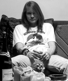 Axl Rose (back in the days)