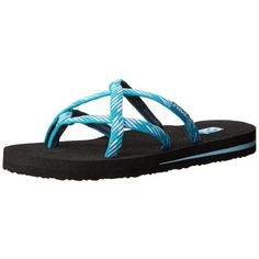 Teva Women's Olowahu Flip-Flop Textile Imported Synthetic sole | eNew Style