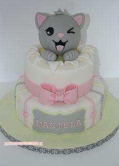 tarta gato gris Galería | IN Cakes
