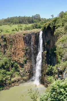 Howick Falls - Discover South Africa with us Things To Do, Good Things, Best Location, Beautiful Places To Visit, South Africa, Waterfall, Outdoor, Things To Make, Outdoors