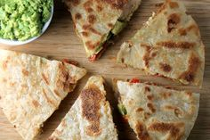 Clean Chicken Quesadillas. Gluten free & Dairy free :)