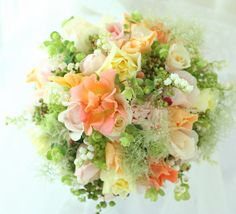 ブーケ ラウンド サプライズ 如水会館様へ : 一会 ウエディングの花