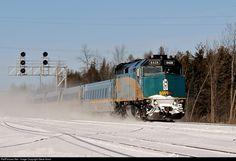 RailPictures.Net Photo: VIA 6428 VIA Rail EMD F40PH-3 at Jasper, Ontario, Canada by Steve Arnot