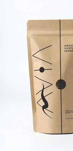 AVIA Packaging design by Bree Mullen // Parrot Food, Exotic Birds, Packaging Design