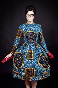 Stella Jean: colore, tessuti wax e righe anche d'inverno! | Jamfashion