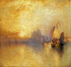 Opalescent Venice - Thomas Moran