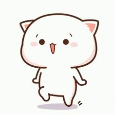 The perfect MochiMochiCat Peach Happy Animated GIF for your conversation. Discover and Share the best GIFs on Tenor. Cute Panda Cartoon, Cute Anime Cat, Cute Cartoon Images, Cute Cartoon Drawings, Cute Cat Gif, Cute Cartoon Wallpapers, Cute Images, Cute Cats, Mochi