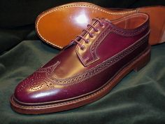 Cordovan Shoes, Brogues, Loafers, Sock Shoes, Shoe Boots, Formal Shoes, Shoes Sneakers, Shoes Men, Moda Masculina