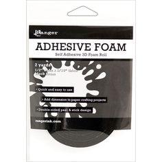 Ranger Adhesive Black Foam Roll