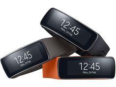 Samsung Gear Fit 発表、活動量計と曲面ディスプレイ搭載のスマートバンド - Engadget Japanese