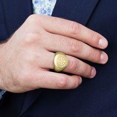 Ryker aranyszínű acélgyűrű | Ingyenes kiszállítás | Lucleon