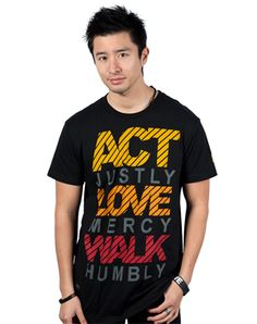 The Act Love Walk shirts #notw