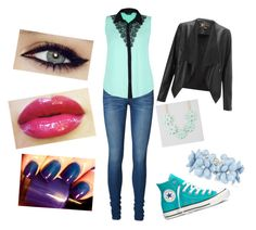 """Untitled #25"" by scarlet-moon-98 ❤ liked on Polyvore featuring Vero Moda, Converse, Lipsy and Full Tilt"