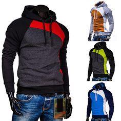 NEW GOODS NEW ITEMS Men Hoodie Warm Hooded Sweatshirt Coat Jacket Drawstring Outwear Pullover Top #Affiliate
