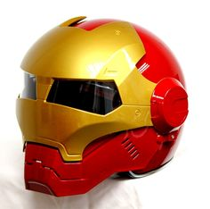 Masei Red Atomic-Man 610 Open Face Motorcycle Helmet Free Shipping for Harley Davidson