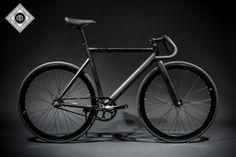 Custom Track Bike | 6061 Black Label - Matte Black | State Bicycle Co.