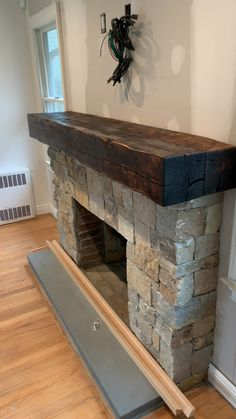Good Free of Charge farmhouse Fireplace Mantels Concepts Most current Snap Shots rustic Fireplace Mantels Ideas The fireplace has been th…, Farmhouse Fireplace Mantels, Stone Fireplace Mantel, Brick Fireplace Makeover, Rustic Fireplaces, Home Fireplace, Fireplace Surrounds, Fireplace Design, Fireplace Ideas, Stacked Stone Fireplaces