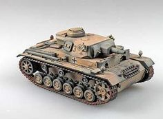 Pre-Built Model Artillery - Panzer III AusfN 172 Model 15th Panzer Division Afrika Korps 1943 *** Details can be found by clicking on the image.
