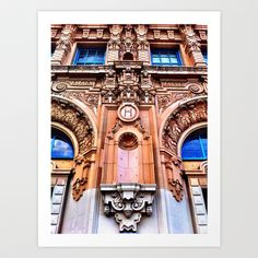 mhs.uno // Mission High School // San Francisco // Art Print by  emmy rose [eight4imagery]