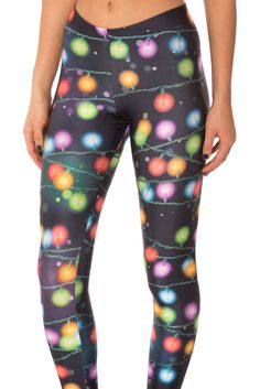 Fairy Lights Leggings (WW 48HR $75AUD / US - LIMITED $70USD) by Black Milk Clothing - LARGE