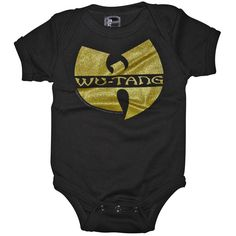 um...can we talk about this Wu Tang onesie by Sourpuss???? WU IS FOR THE CHILDREN! #WuTang #SourpussClothing #lalaling