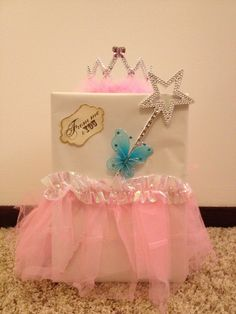 Sheilau0027s Baby Shower Card Box