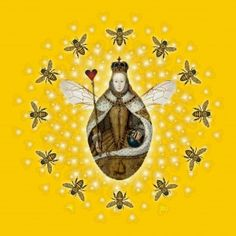 Queen Bee Mandala by Sarah Niebank