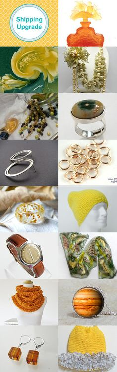 *****Lemon and Amber***** by Vilma Matuleviciene on Etsy--Pinned+with+TreasuryPin.com