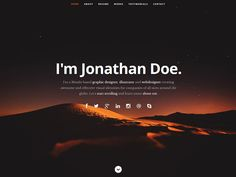 free resume html template 23 Free Personal vCard & Resume HTML Templates Resume Words, Html Templates, Free Personals, Visual Identity, Free Resume, Sample Resume, Create Yourself, It Works, Graphic Design