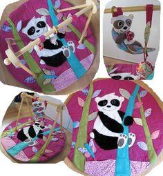 tapis eveil panda  - Les p'tits LoupSouris