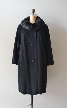 Neustadt cashmere coat / 1960s wool coat / vintage by DearGolden, $185.00