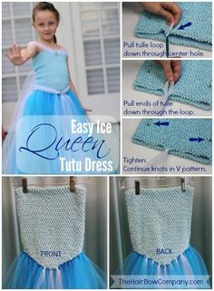 35+ DIY Disney's Frozen Inspired Costumes & Accessories - DIY for Life  Elsa Ice Princess