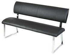Dining Bench Seat with Back Rest - Modern Furniture and Lighting | Modern Furniture and Lighting