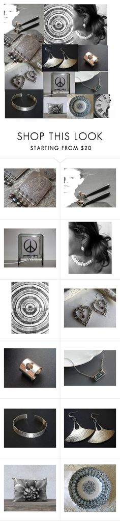 Grey Mood by anna-recycle on Polyvore featuring Puella, modern, rustic and vintage
