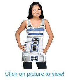 I Am R2-D2 Ladies' Tunic Tank T-Shirts #Apparel #Women's #Tops # #Tanks #Babydolls
