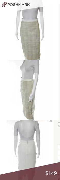 Ter Et Bantine snakeskin pencil skirt Sz 4 Ivory snakeskin pencil skirt Ter et Bantine Skirts Pencil