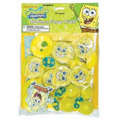 Sponge Bob Party Favor Pack